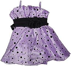 Gowri Marketing Girls' Dress (AM00025_47, Purple, 7-8 Years)