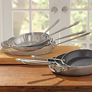 All Clad Stainless Steel 7 French Skillet by All-Clad
