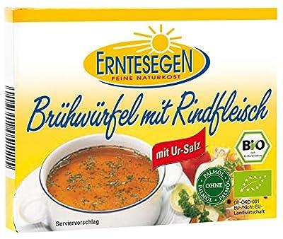 Erntesegen Bio Brühwürfel mit Rindfleisch (1 x 72 gr) von Erntesegen Naturkost GmbH - Gewürze Shop