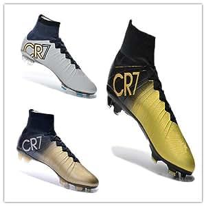 Amazon.com: Drop Shipping New Superfly CR7 FG Soccer Shoe,Ronaldo Gold