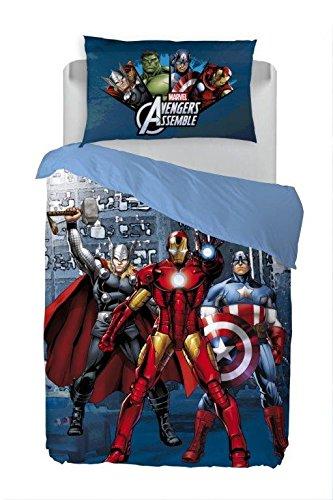 Caleffi Parure Copripiumino The Avengers Stampa Digitale