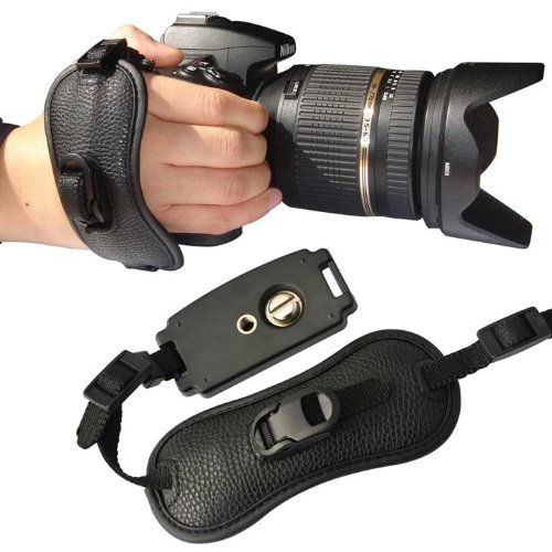 first2savvv-osh0401-professional-wrist-grip-black-genuine-leather-hand-strap-for-canon-powershot-sx5