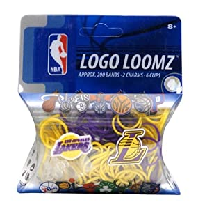Los Angeles Lakers Logo Loomz Filler Pack by Hall of Fame Memorabilia