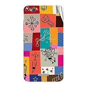 Garmor Designer Mobile Skin Sticker For Gionee P4S - Mobile Sticker