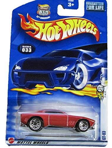 Hot Wheels 2003-033 First Editions #21 GT-03 Highway 35 1:64 Scale