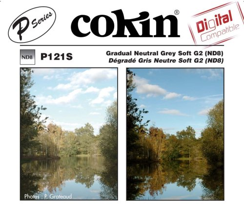 Cokin P121S Grad Grey G2 SFT(ND8)Square Filter