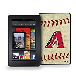 MLB Arizona Diamondbacks Kindle Fire Vintage Baseball Cover by Pangea Brands