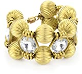 Auden Hestia Cuff Gold-Tone With Magnetic Closure
