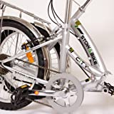 "Stowabike 20"" City Bike Compact Folding 6 Speed Shimano Bicycle"