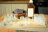 Shot Glass Bundle - 6 Mini Beer Mug Shot Glasses - 6 Das Boot Shot Glasses - 12 Glasses Total - Free Recipe E-book