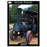 Toyrific 1000pc Traditional Transport Jigsaw Puzzle Rainy Day Games Children Adults Elderly (Traction Engine)