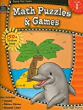 Ready-Set-Learn: Math Puzzles and Games Grd 1