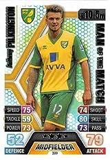 Match Attax 2013/2014 Anthony Pilkington Norwich City 13/14 Man Of The Match