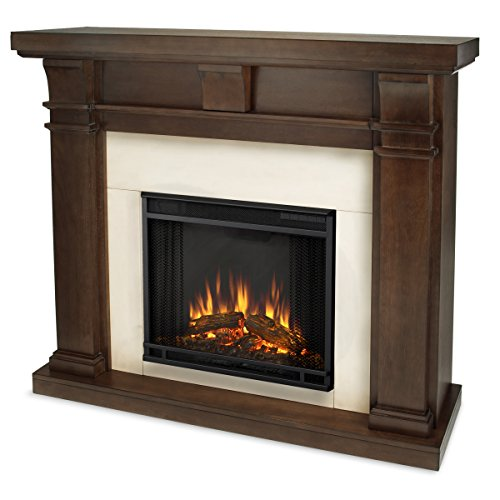 Real Flame 7730-X-Vbm Porter Electric Fireplace, Vintage Black Maple