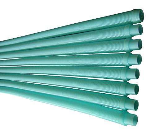 Fibropool Kreepy Krauly or Baracuda G3 G4 Pool Cleaner Hose, Aqua, 8 Pack (Pool Vacuum Hose compare prices)