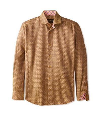 Bertigo Men's Diamond Pattern Sportshirt