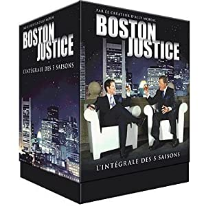 Coffret DVD Boston Justice saison 1 à 5