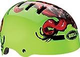 Bell 2014 Faction BMX/Skate Helmet - Artist Series (Glow Green Tentaskull - S)