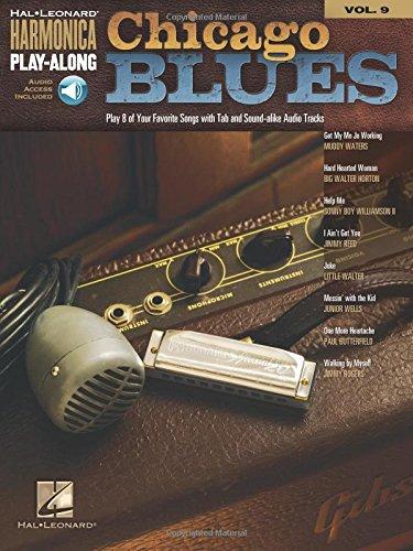 Harmonica Play Along Vol.09 Chicago Blues CD