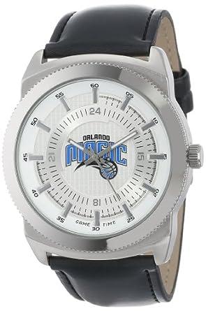 Game Time Mens NBA-VIN-ORL Vintage NBA Series Orlando Magic 3-Hand Analog Watch by Game Time
