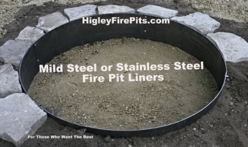 Fire Pit Liner Fire Pit Ring Steel Fire Pit