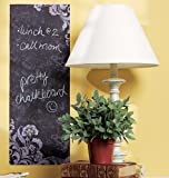 Wallies Peel and Stick Chalkboard Mural, 1-Sheet, Frilly