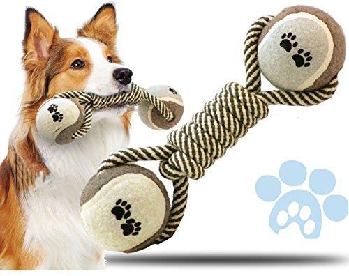 ペトニ(Petony)コットンボーループ ボーン型 ツイスト&チュー ペット 小型 中型 犬 ワンちゃん 噛む おもちゃ