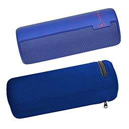 Pashion UE BOOM Wireless Bluetooth Speaker Water-Resistant Lycra Zipper Carrying Case Bag