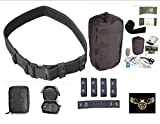 VAS-Black-Ops-Versa-Belt-Combo-Tactical-Belt-Tactical-Trauma-First-Aid-Kit-2-1-Molle-IPAK-Personal-Accessory-Bag-Includes-6-Israeli-Bandage-SAM-Type-SplintNon-surgical-First-Aid
