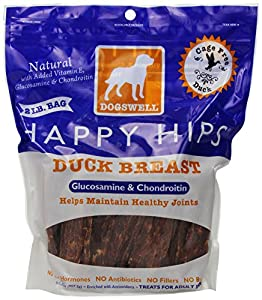 Dogswell Happy Hips Duck Dog Chews 32 Oz (907.2 G)