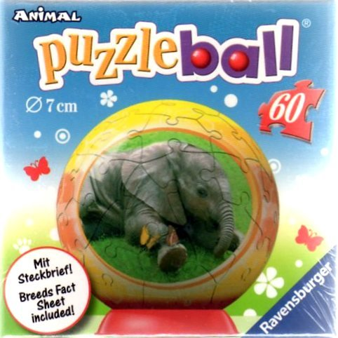 Ravensburger Baby Animals with Fact Sheet-Elephant