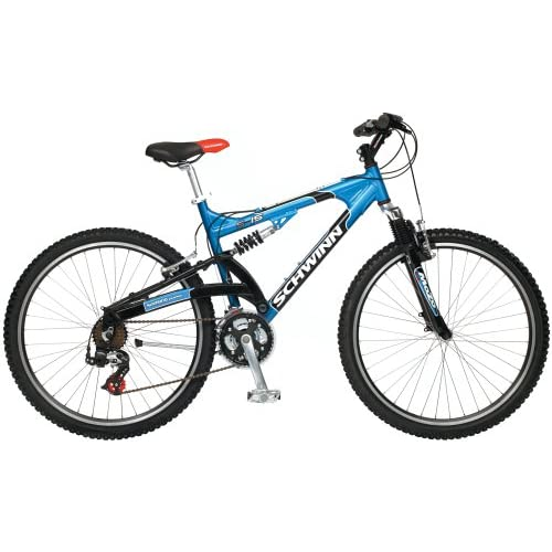 Amazon.com : Schwinn S-15 Men's Dual-Suspension Mountain Bike
