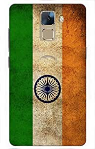 iessential india Designer Printed Back Case Cover for Huawei Honor 7