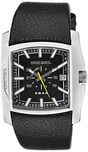 Diesel Men's DZ1178 Black Not-So-Basic Basic Analog Black Dial Watch