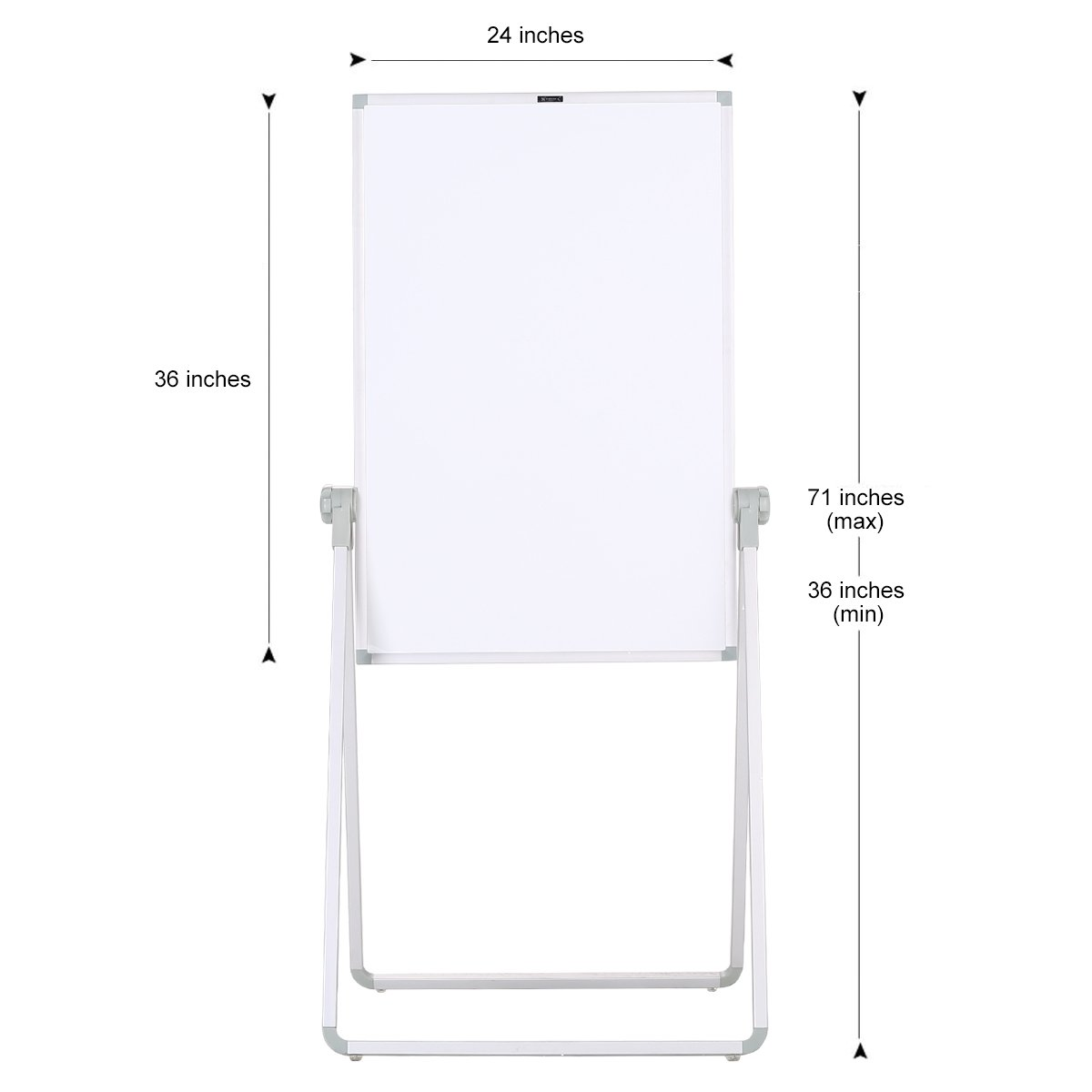 ZHIDIAN White Boards Magnetic Dry Erase Boards Stand 36×24 Inch ...