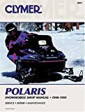 Polaris Snowmobile Shop Manual 1990-1995 (Clymer Snowmobile Repair Series)