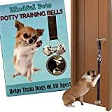 Potty Training Jingle Doorbells, Best Housebreaking Tool For Dogs & Puppies by Mindful Pets