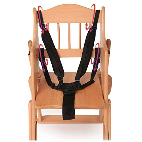 Chinatera 5 Point Harness Baby Safety Seat Belt Strap for Stroller High Chair Pram Buggy