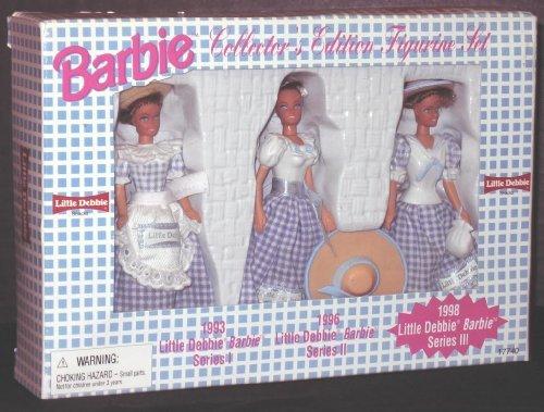 Barbie Little Debbie 1998 Collector's Edition Series III Figurine Set