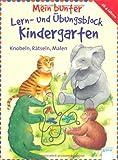 Mein bunter Lern- und Übungsblock Kindergarten: Knobeln, Rätseln, Malen
