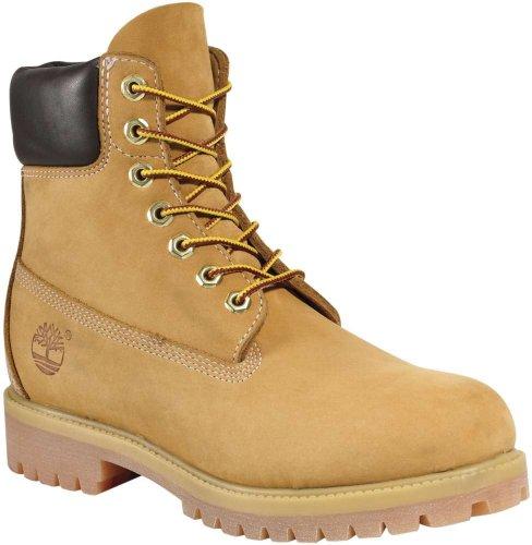 Timberland Women's 6-Inch Premium Boot,Wheat,7 M US