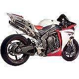 ホットボディーズ Hotbodies Racing スリップオンマフラー MGP 09年-12年 YZF-R1 ステン/カーポン/ステン 1811-2534 80901-2400
