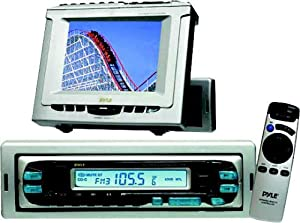 "5"" In-Dash Monitor with TV and AM/FM Tuners"