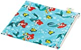 Bumkins Disney Baby Single Reusable Snack Bag, Ariel, Large