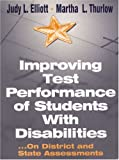 img - for Improving Test Performance of Students With Disabilities: ...On District and State Assessments book / textbook / text book