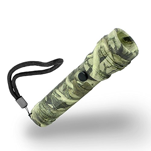 Xtreme Bright Camo LED Flashlight-3 Light Modes,