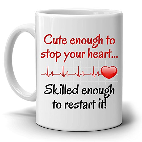 Funny Nurse Coffee Mug a Cool, Unique Gift for Registered, Practitioner, Student, Certified Nursing Assistant - Printed on Both Sides (Registered Nurse Coffee compare prices)