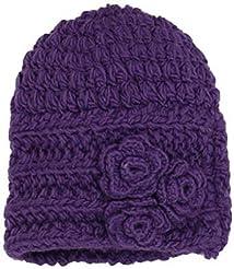San Diego Hat Little Girls'  Beanie Hat Purple 2-4 Years