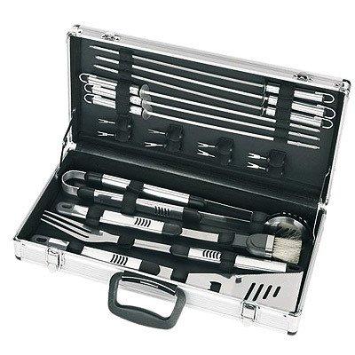 Bbq-Set In A Silver Aluminium Case 18-Part - 301113