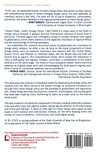 Global Power: India's Foreign Policy 1947-2006